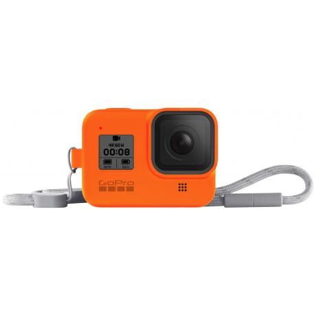 Чехол + ремешок Sleeve & Lanyard для GoPro HERO8 (AJSST-004) Orange