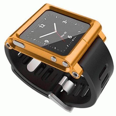 Ремешок LunaTik для iPod Nano Orange