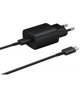 Сетевое зарядное устройство для Samsung Type-C 25W (EP-TA800XBEGRU) Black