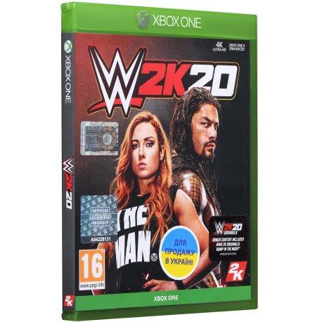 Игра WWE 2K20 для Microsoft Xbox One (английская версия)