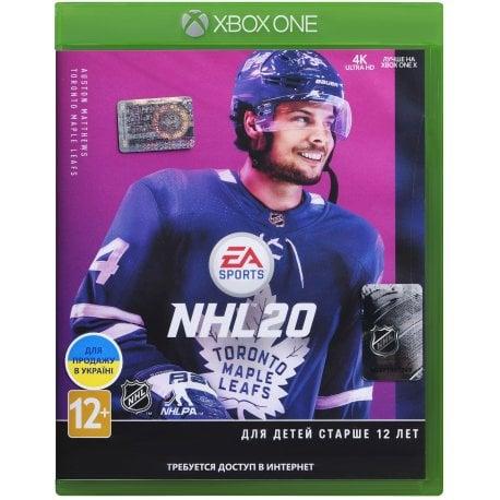 Игра NHL 20 для Microsoft Xbox One (русская версия)