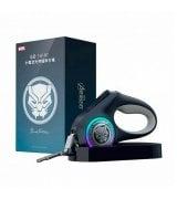 Поводок Xiaomi Petkit Telescopic Traction Rope The Marvel Edition Black Panther (P2101CM)