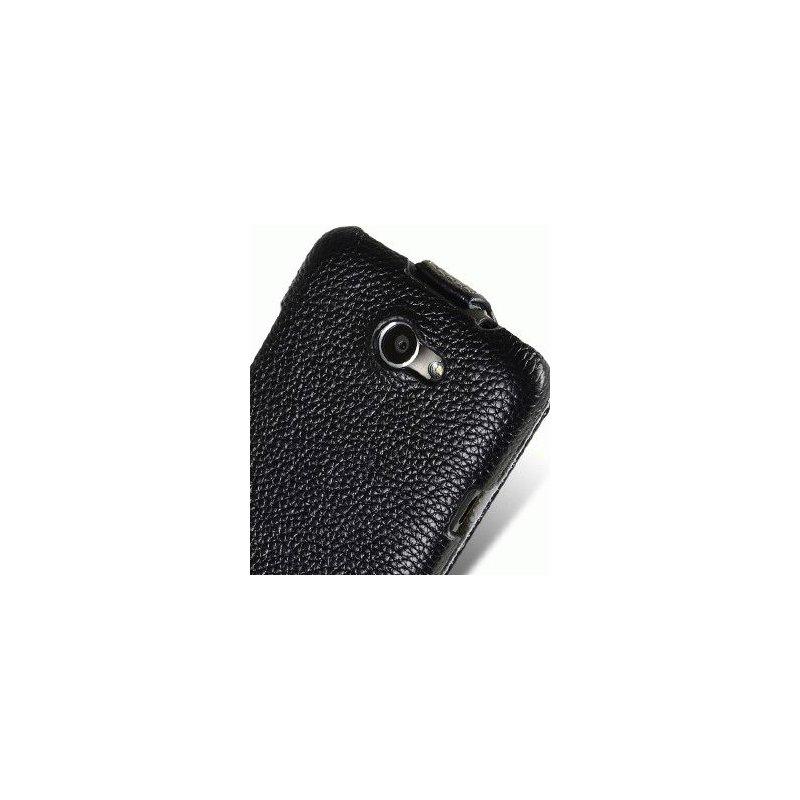 Кожаный чехол Melkco Flip (JT) для HTC One X S720e
