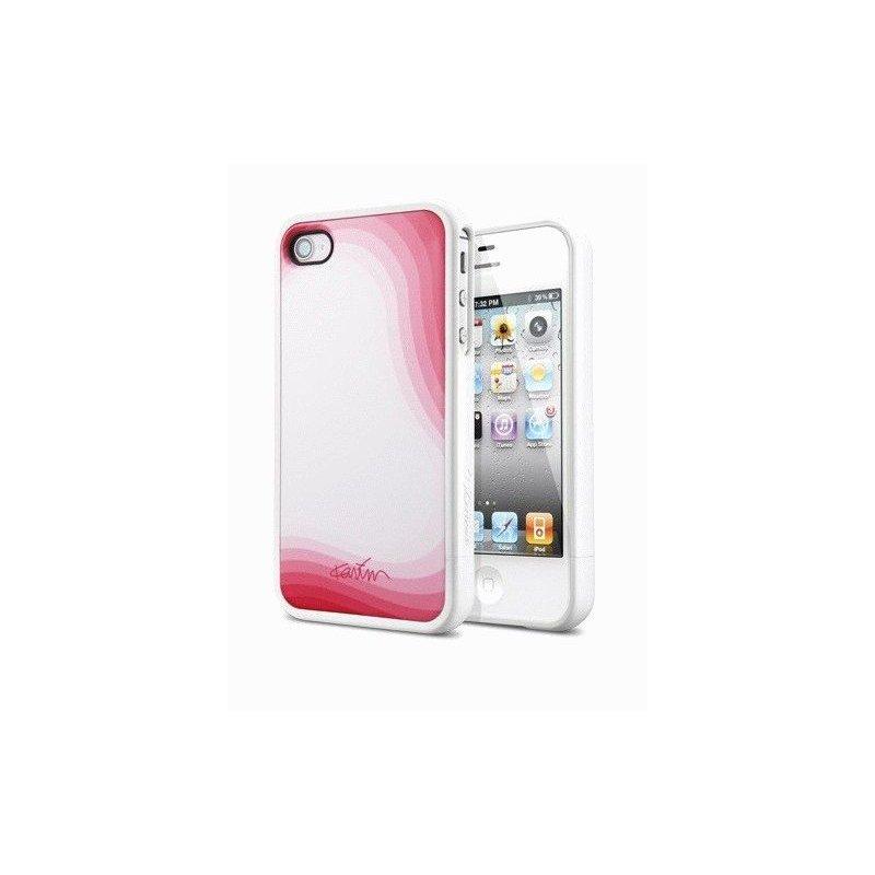 SGP Case Linear Karim Rashid Blobism White чехол для iPhone 4/4s