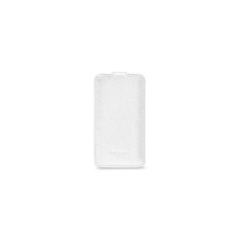 Кожаный чехол Melkco Flip (JT) для HTC One X S720e White