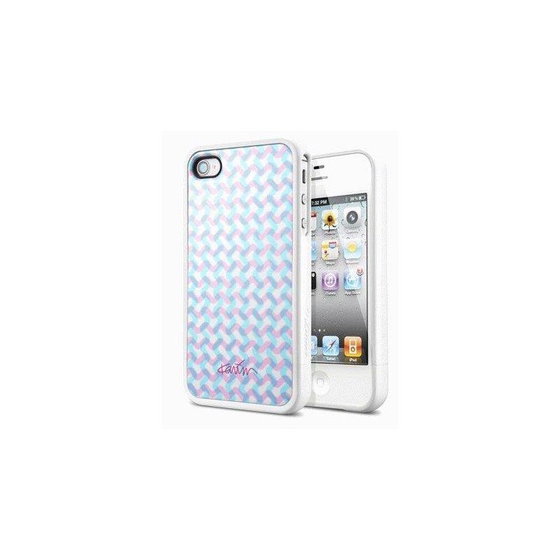 SGP Karim Rashid Karma White чехол для iPhone 4/4s