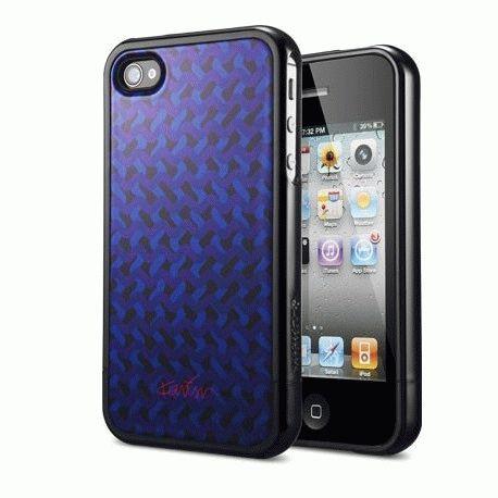 SGP Karim Rashid Karma Black чехол для iPhone 4/4s