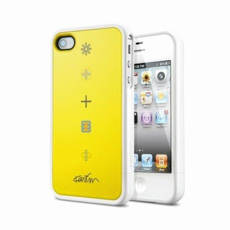 SGP Karim Rashid Harmony Yellow чехол для iPhone 4/4S