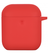 Чехол 2Е для Apple AirPods Pure Color Silicone Red