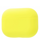 Чехол Silicone Case Slim для Apple AirPods Pro Yellow