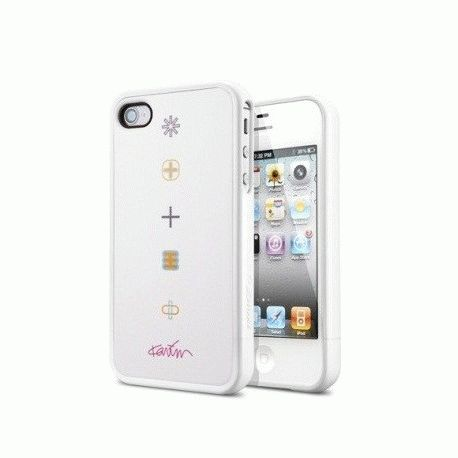 SGP Karim Rashid Harmony White чехол для iPhone 4/4S