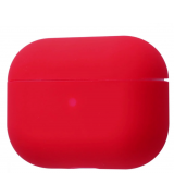 Чехол Silicone Case Slim для Apple AirPods Pro Red