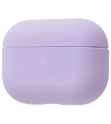 Чехол Silicone Case Slim для Apple AirPods Pro Light Purple