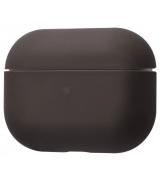 Чехол Silicone Case Slim для Apple AirPods Pro Dark Brown