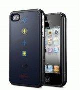 SGP Karim Rashid Harmony Black чехол для iPhone 4/4S