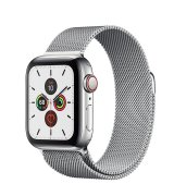 Apple Watch Series 5 40mm (GPS+LTE) Stainless Steel Case with Milanese Loop (MWWT2/MWX52)