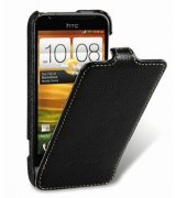 Кожаный чехол Melkco Flip (JT) для HTC One V T320e
