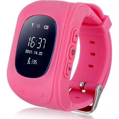 Детские телефон-часы с GPS iQwatch Baby Q-50 (Pink)