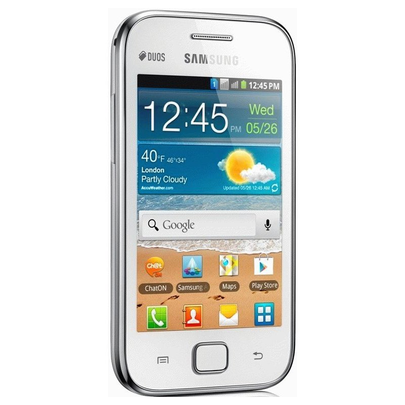 Samsung Galaxy Ace Duos S6802 Chic White