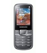 Samsung E2252 Duos Metallic Silver