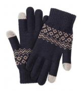 Перчатки для смартфонов Xiaomi FO Touch Screen Warm Gloves Blue