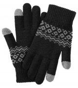 Перчатки для смартфонов Xiaomi FO Touch Screen Warm Gloves Black