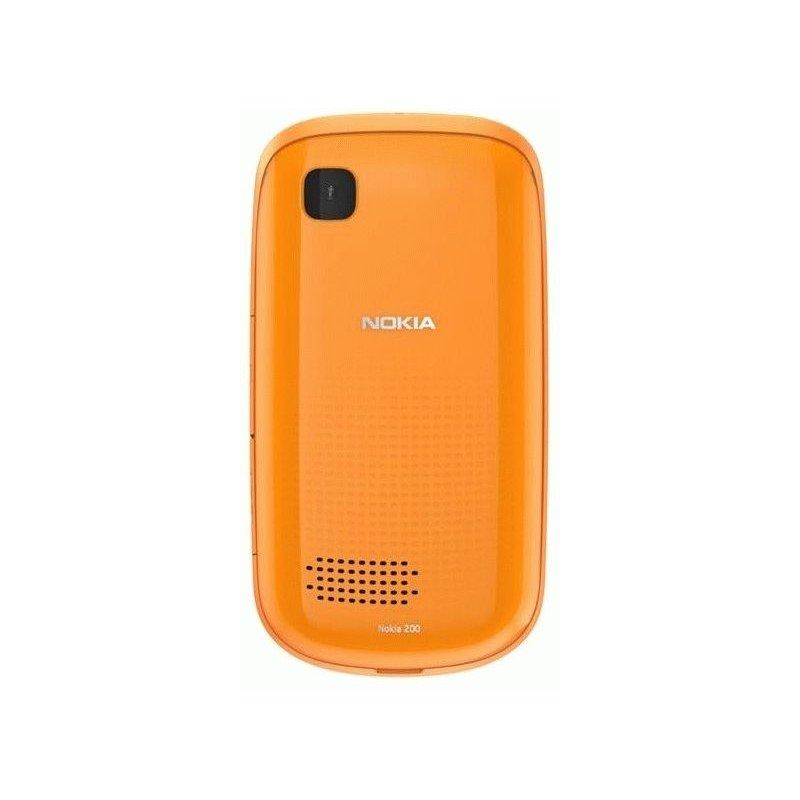 Nokia Asha 200 Duos Orange