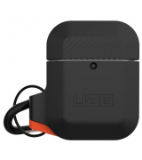 Чехол Urban Armor Gear (UAG) для AirPods Black/Orange
