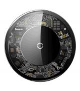 Беспроводное зарядное устройство Baseus Wireless Charger Simple Crystal (CCALL-AJK01)