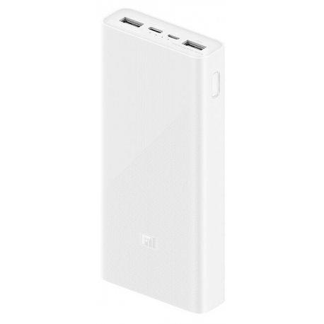 Внешний аккумулятор Xiaomi Mi PowerBank 3 20000mAh Type-C White (PLM18ZM) (VXN4258CN)
