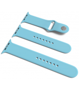 Спортивный ремешок Sport Band для Apple Watch 38/40mm S/M&M/L 3pcs Sky Blue