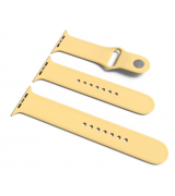 Спортивный ремешок Sport Band для Apple Watch 38/40mm S/M&M/L 3pcs Yellow