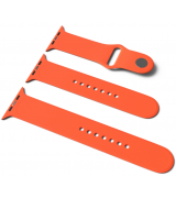 Спортивный ремешок Sport Band для Apple Watch 38/40mm S/M&M/L 3pcs Orange
