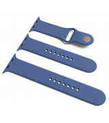 Спортивный ремешок Sport Band для Apple Watch 38/40mm S/M&M/L 3pcs Delft Blue
