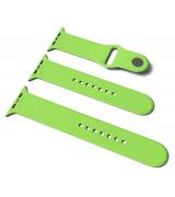 Спортивный ремешок Sport Band для Apple Watch 38/40mm S/M&M/L 3pcs Green