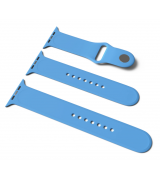Спортивный ремешок Sport Band для Apple Watch 38/40mm S/M&M/L 3pcs Blue