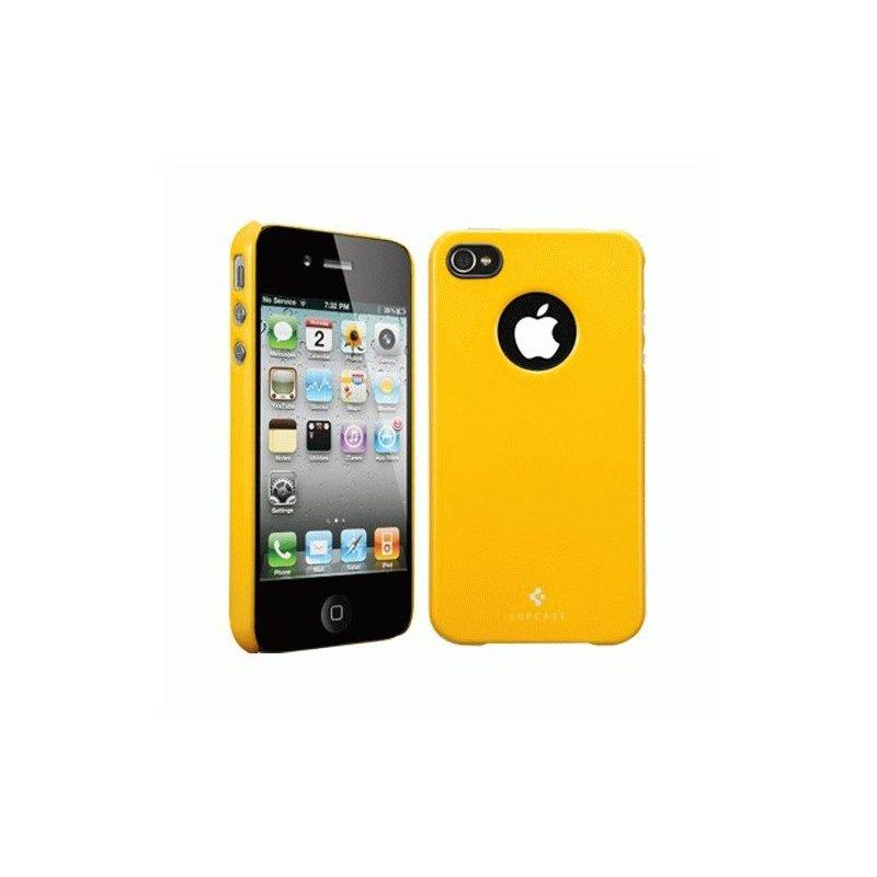 SGP iPhone 4/4s Case Ultra Thin Air Pastel Series Reventon Yellow