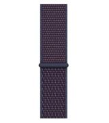 Спортивный ремешок Sport Loop Band для Apple Watch 38/40mm Indigo