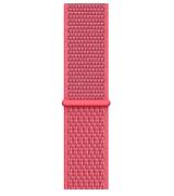 Спортивный ремешок Sport Loop Band для Apple Watch 38/40mm Hibiscus
