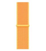 Спортивный ремешок Sport Loop Band для Apple Watch 38/40mm Canary Yellow