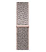 Спортивный ремешок Sport Loop Band для Apple Watch 42/44mm Pink Sand