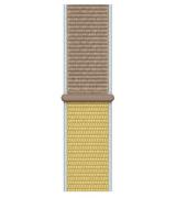 Спортивный ремешок Sport Loop Band для Apple Watch 42/44mm Camel
