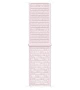 Спортивный ремешок Sport Loop Band для Apple Watch 42/44mm Pearl Pink