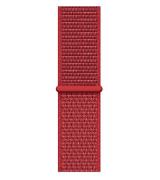 Спортивный ремешок Sport Loop Band для Apple Watch 42/44mm Red