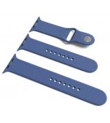 Спортивный ремешок Sport Band для Apple Watch 42/44mm S/M&M/L 3pcs Delft Blue