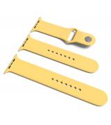 Спортивный ремешок Sport Band для Apple Watch 42/44mm S/M&M/L 3pcs Yellow