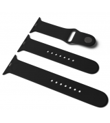 Спортивный ремешок Sport Band для Apple Watch 42/44mm S/M&M/L 3pcs Black