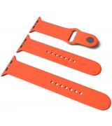 Спортивный ремешок Sport Band для Apple Watch 42/44mm S/M&M/L 3pcs Orange