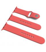 Спортивный ремешок Sport Band для Apple Watch 42/44mm S/M&M/L 3pcs Coral