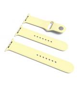 Спортивный ремешок Sport Band для Apple Watch 42/44mm S/M&M/L 3pcs Mellow Yellow